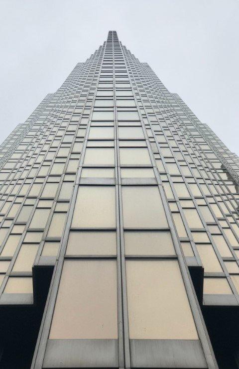 rascacielos de cristal
