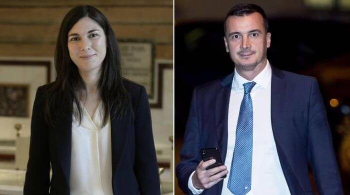 Giulia Sarti e Rocco Casalino m5s disastro mediatico