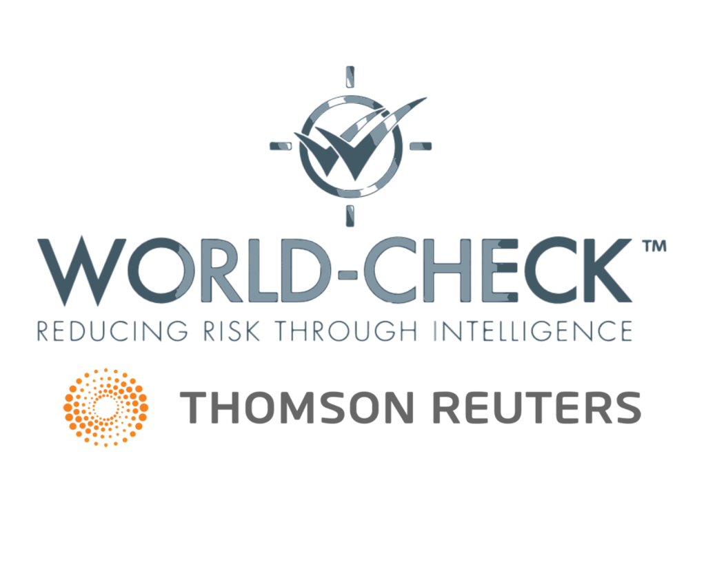 WORLD CHECK RISK INTELLIGENCE guida reputationup logo