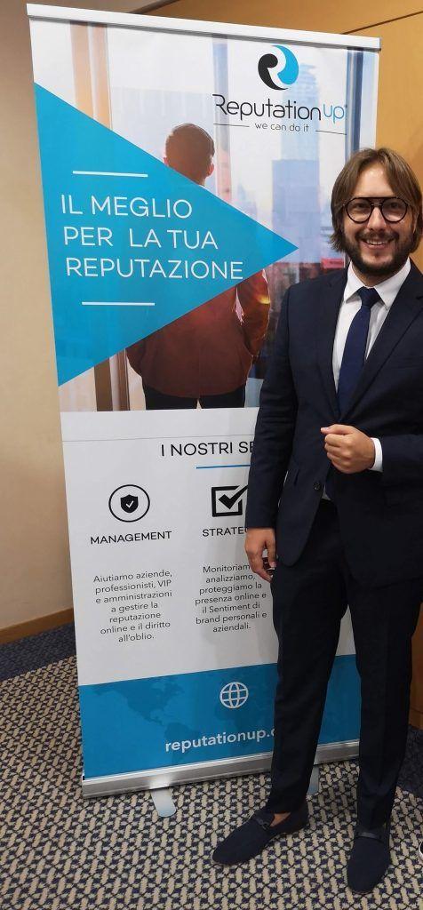 andrea baggio ceo founder reputation up esperto diritto all'oblio
