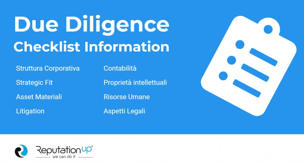 due diligence checklist information