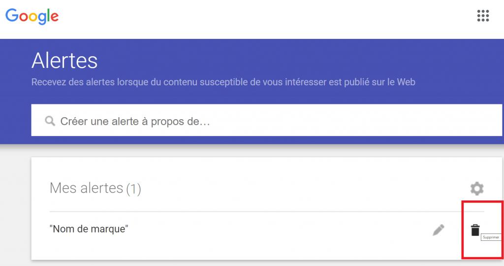 comment désactiver Google Alertes guide reputationup