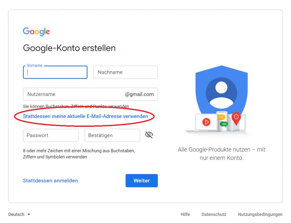 Google Alerts Ohne Gmail-Konto erstellen reputation up