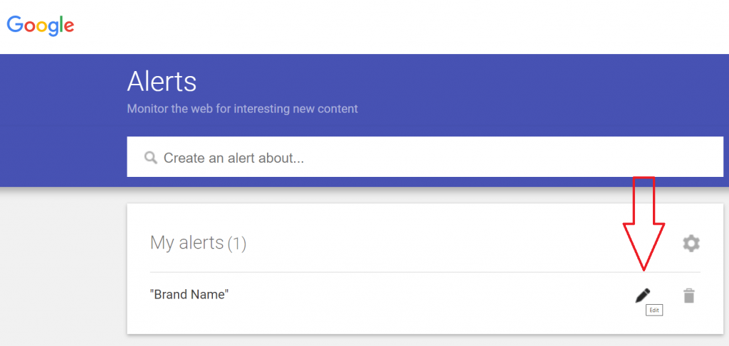 How to activate Google Alerts reputationup guide