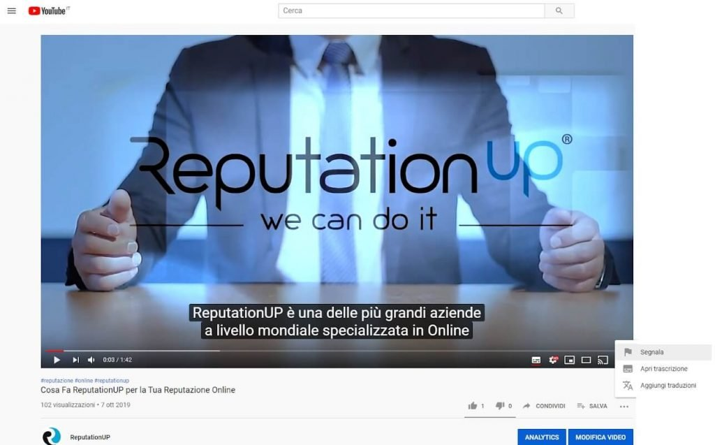Quante segnalazioni ci vogliono per eliminare un video da Youtube