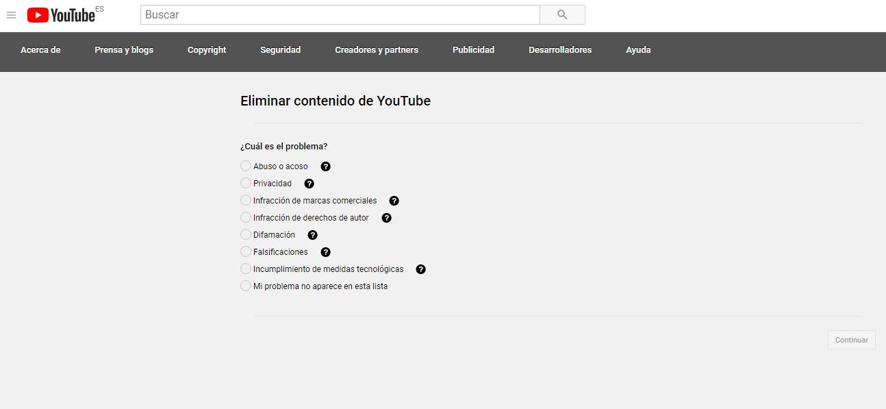 Cómo eborrar un vídeo de YouTube Especificar Problema. Fotografía. ReputationUp