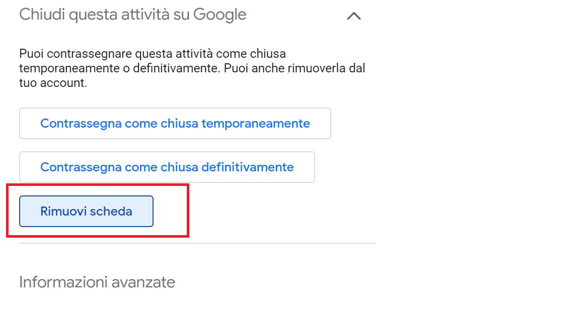 Come eliminare una scheda da Google