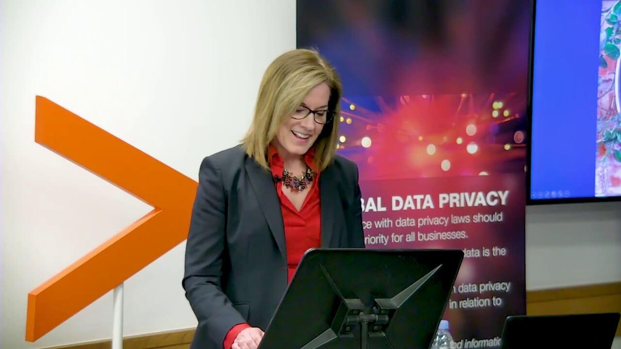 Elizabeth Denham CBE UK Information Commissioner  right to be forgotten