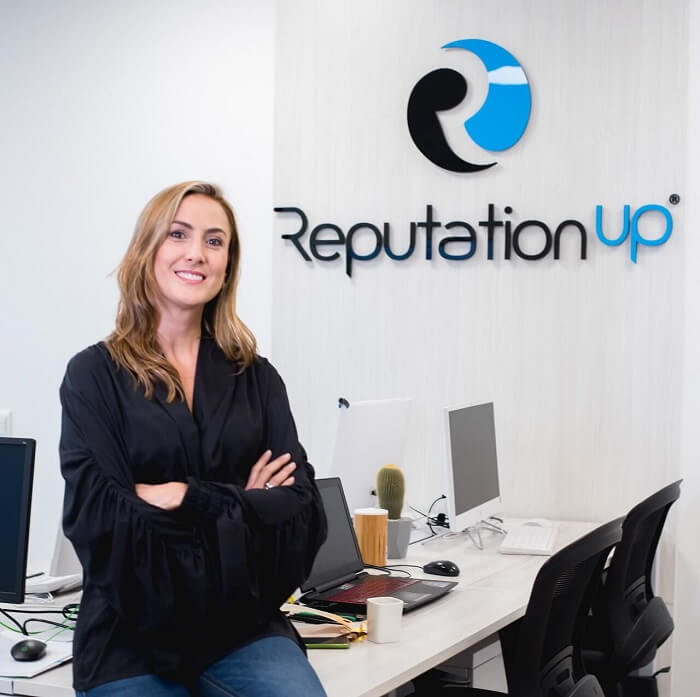 Cristina, CRM Manager reputationup