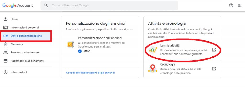 Come eliminare risultati di ricerca Google guida reputationup