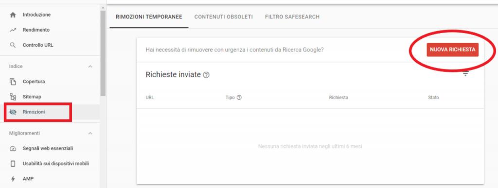 Come rimuovere contenuti obsoleti da Google guida reputationup