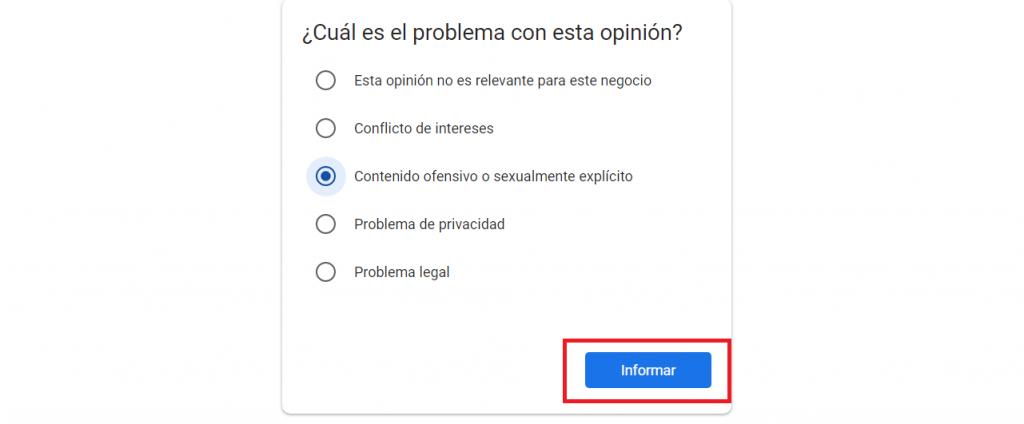 Cómo eliminar opiniones negativas de Google guía reputationup