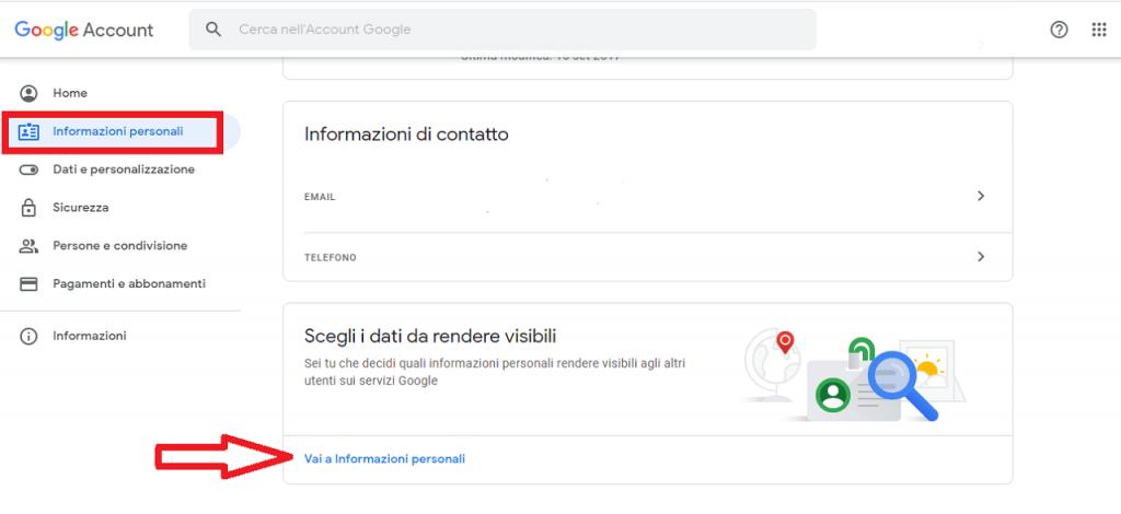 Eliminare il proprio nome da Google guida reputationup