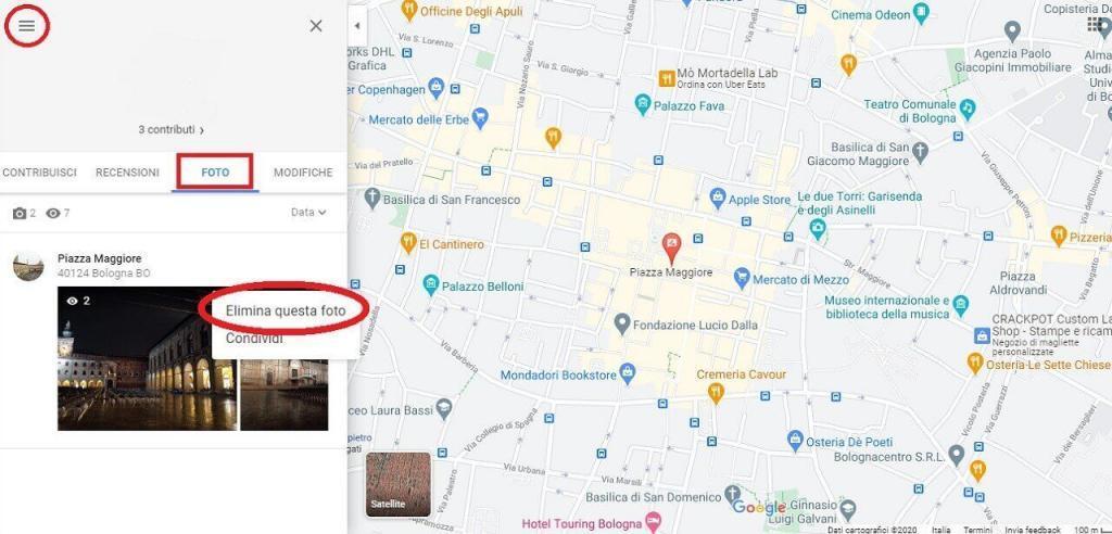 Rimuovere foto da Google Maps guida reputationup