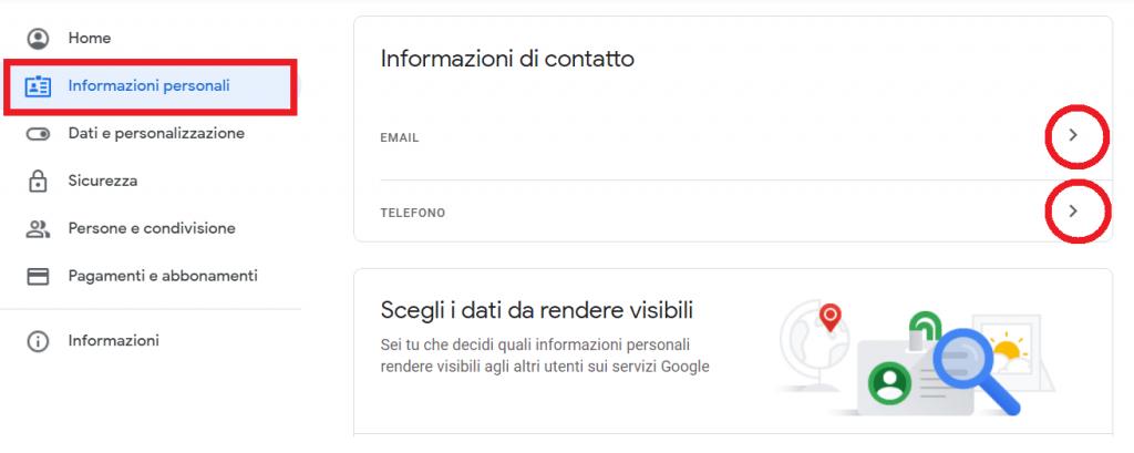 Come faccio a eliminare tutte le mie informazioni da Google reputationup