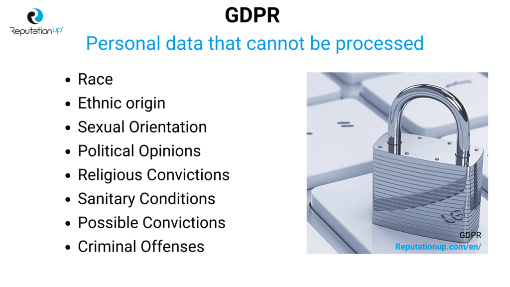 gdpr personal data that cannot be processed reputationup