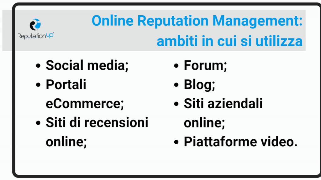 Che cos'è l'online reputation management reputationup