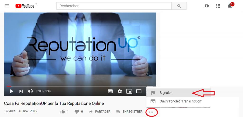 Combien de signalements faut-il pour supprimer une vidéo de Youtube reputationup
