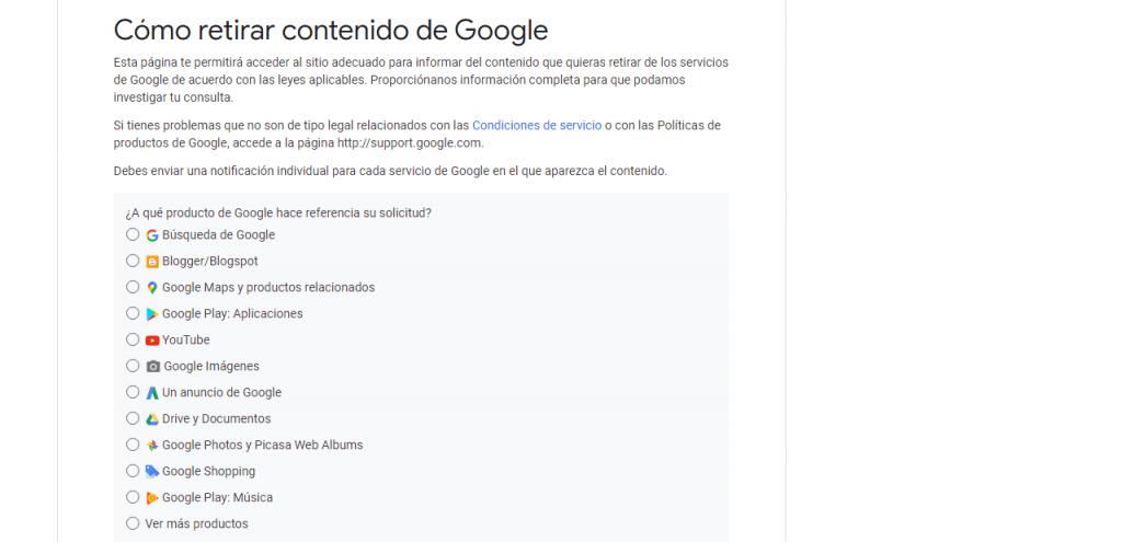 Cómo desaparecer de Google guia contenido reputationup