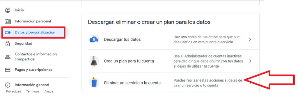 Cómo desaparecer de Google guia reputationup