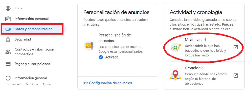Cómo eliminar los resultados de búsqueda de Google reputationup