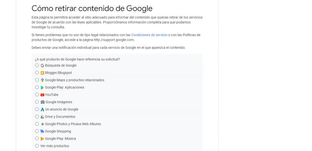 Eliminar noticias de Google guia reputationup
