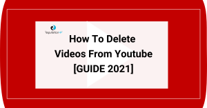 How To Delete Videos From Youtube And Protect Your Privacy guide reputationup 2021