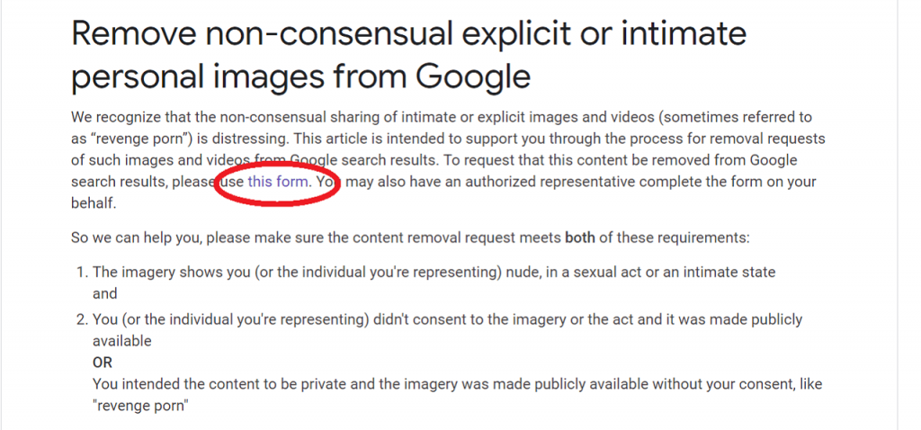 How to Remove Images from Google reputationup