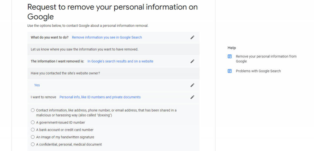 How to Remove Personal Results from Google reputationup