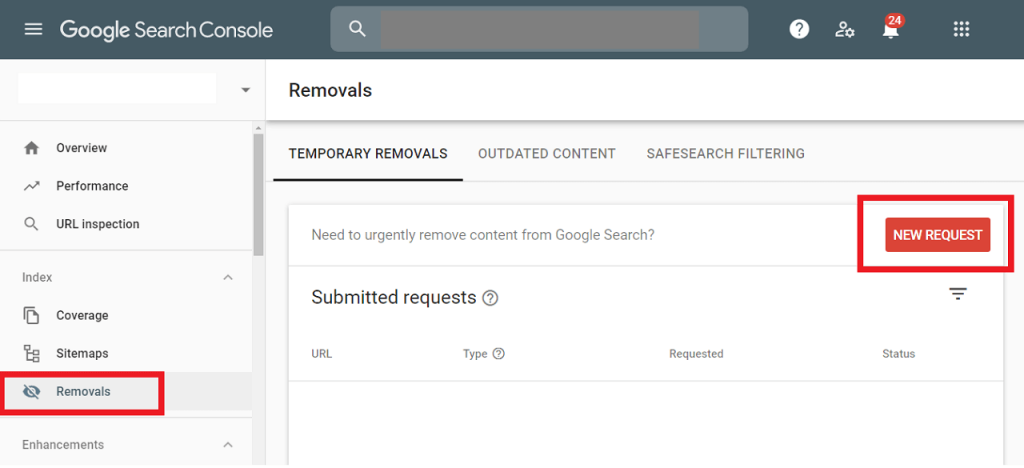 How to Remove an Url from Google Search reputationup