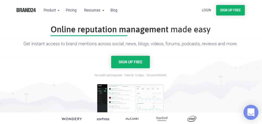 I migliori strumenti per l'online reputation management reputationup