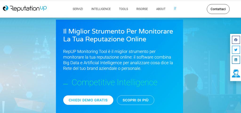 Miglior software di online reputation management guida monitoring reputationup