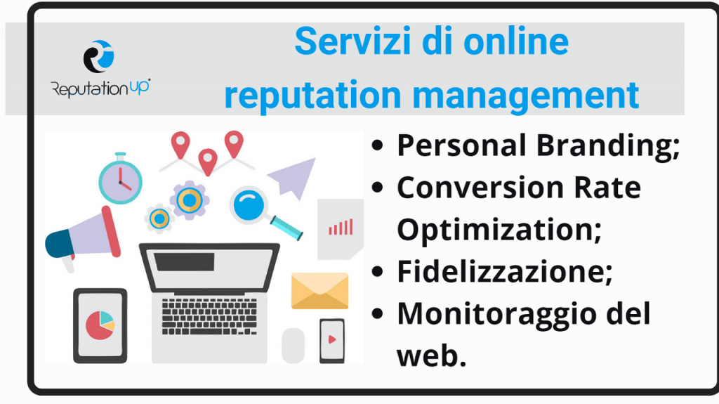 Servizi di online reputation management reputationup