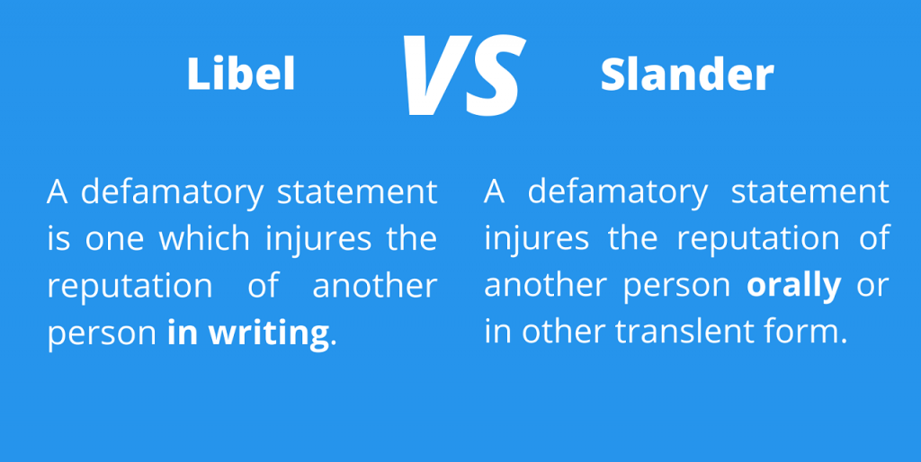 libel vs slander reputationup