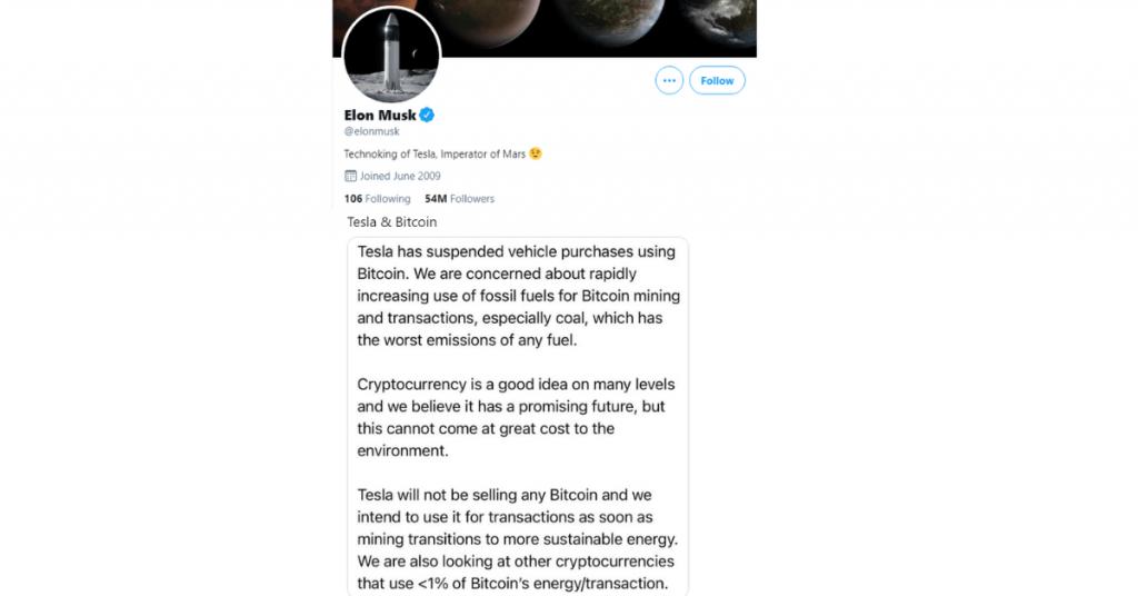 Elon Musk e la sua influenza sui Bitcoin ReputationUP