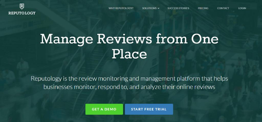 Best online reputation management software ReputationUP