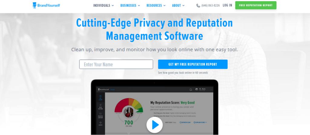 Best online reputation management software brand ReputationUP
