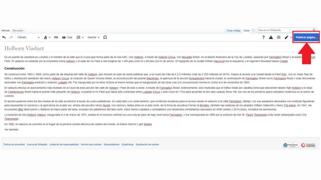 Cómo crear contenido en Wikipedia guia ReputationUP