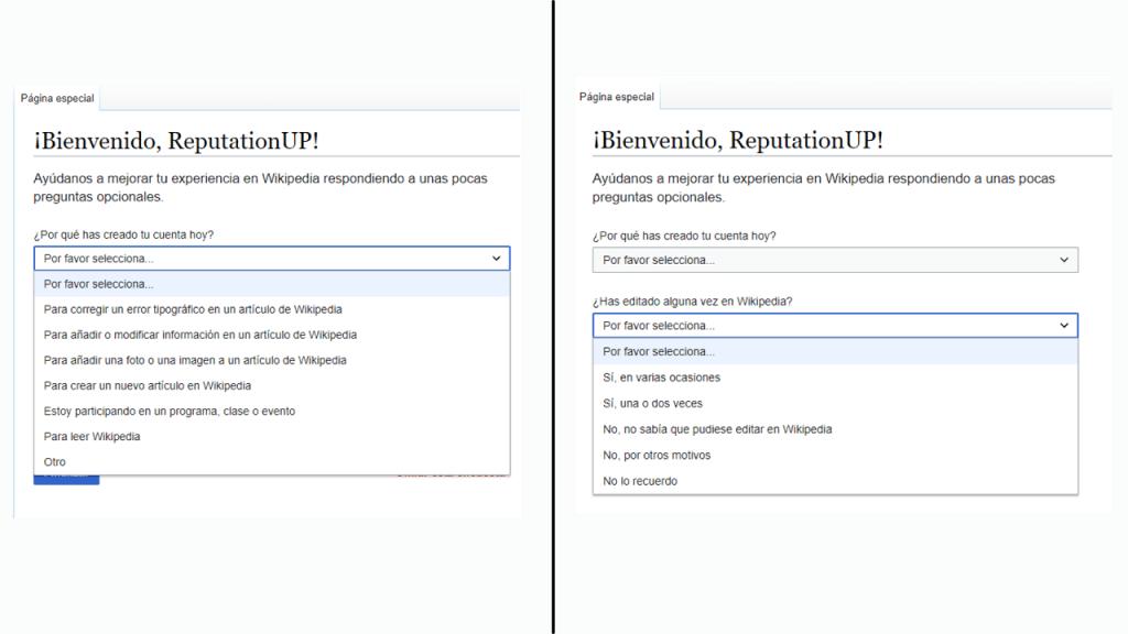 Cómo crear una página de usuario en Wikipedia guia preguntas opcionales ReputationUP