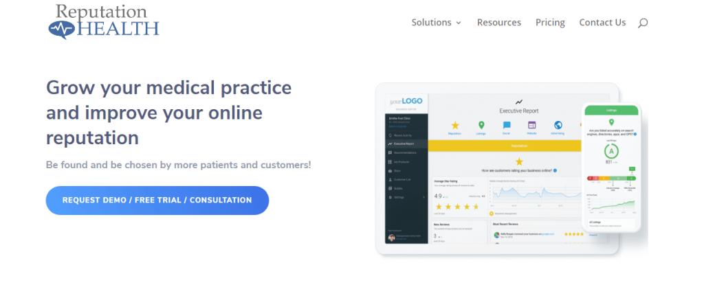 Online reputation management for medics ReputationUP