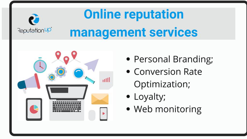 Online reputation management in digital marketing ReputationUP