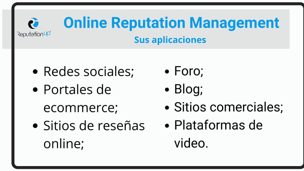 Qué es el Online Reputation Management ReputationUP