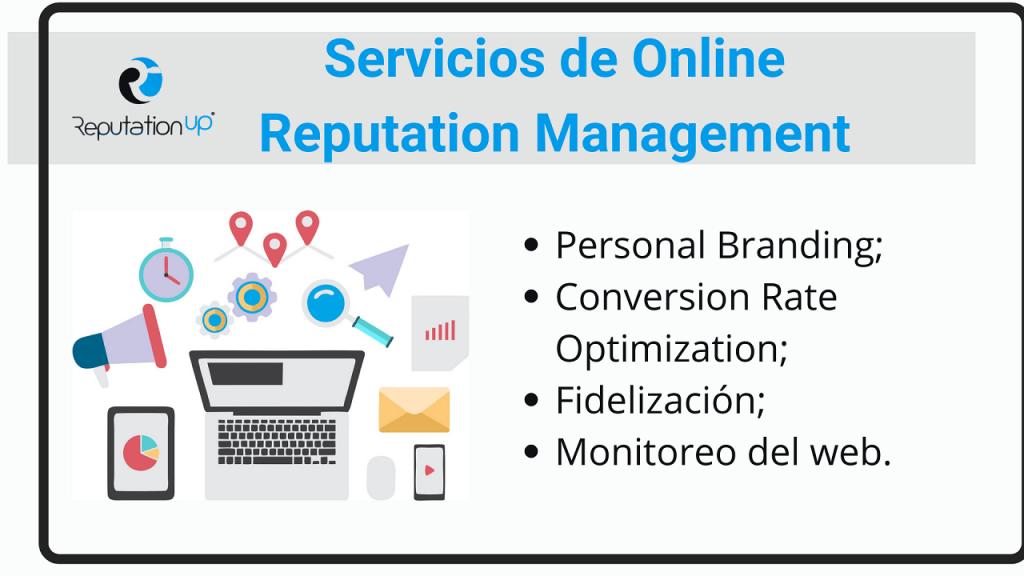 Servicios de Online Reputation Management ReputationUP