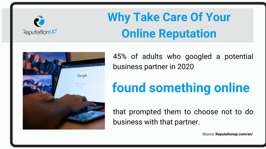 Why Take Care Of Your Online Reputation