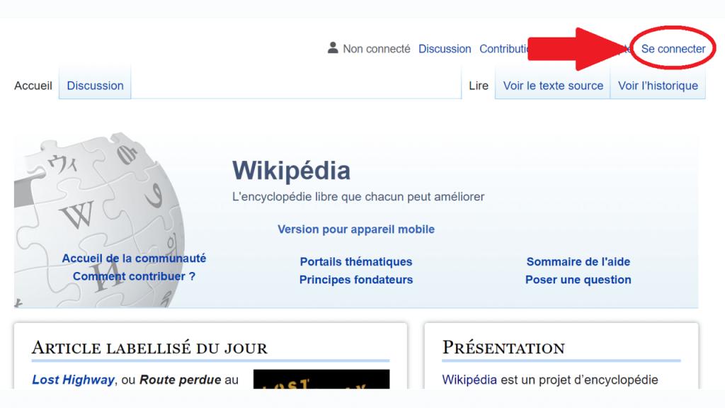 Comment créer un compte utilisateur sur Wikipédia ReputationUP