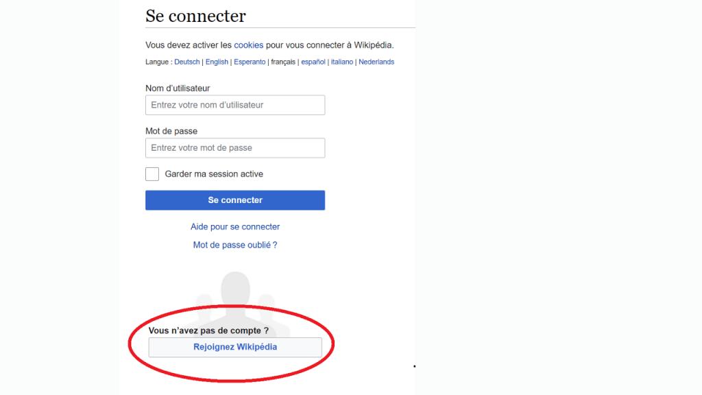 Comment créer un compte utilisateur sur Wikipédia guie ReputationUP