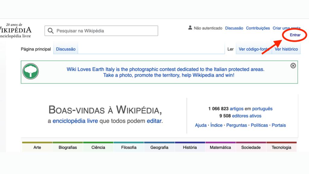 Como criar uma página de usuário na Wikipédia ReputationUP
