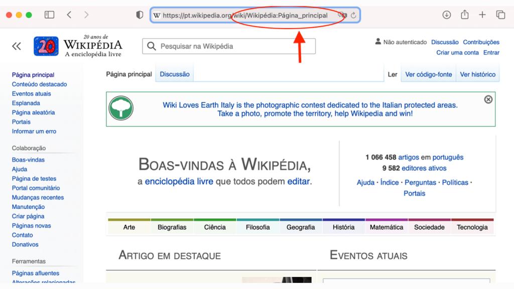 Como editar uma página da Wikipédia ReputationUP