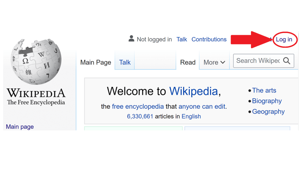 How to create a user page on Wikipedia ReputationUP