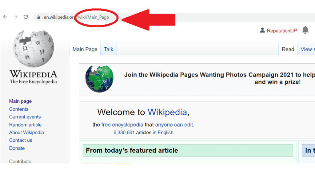 How to edit a Wikipedia page ReputationUP